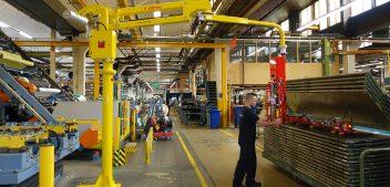 La manutention industrielle : le nouveau défi des industries