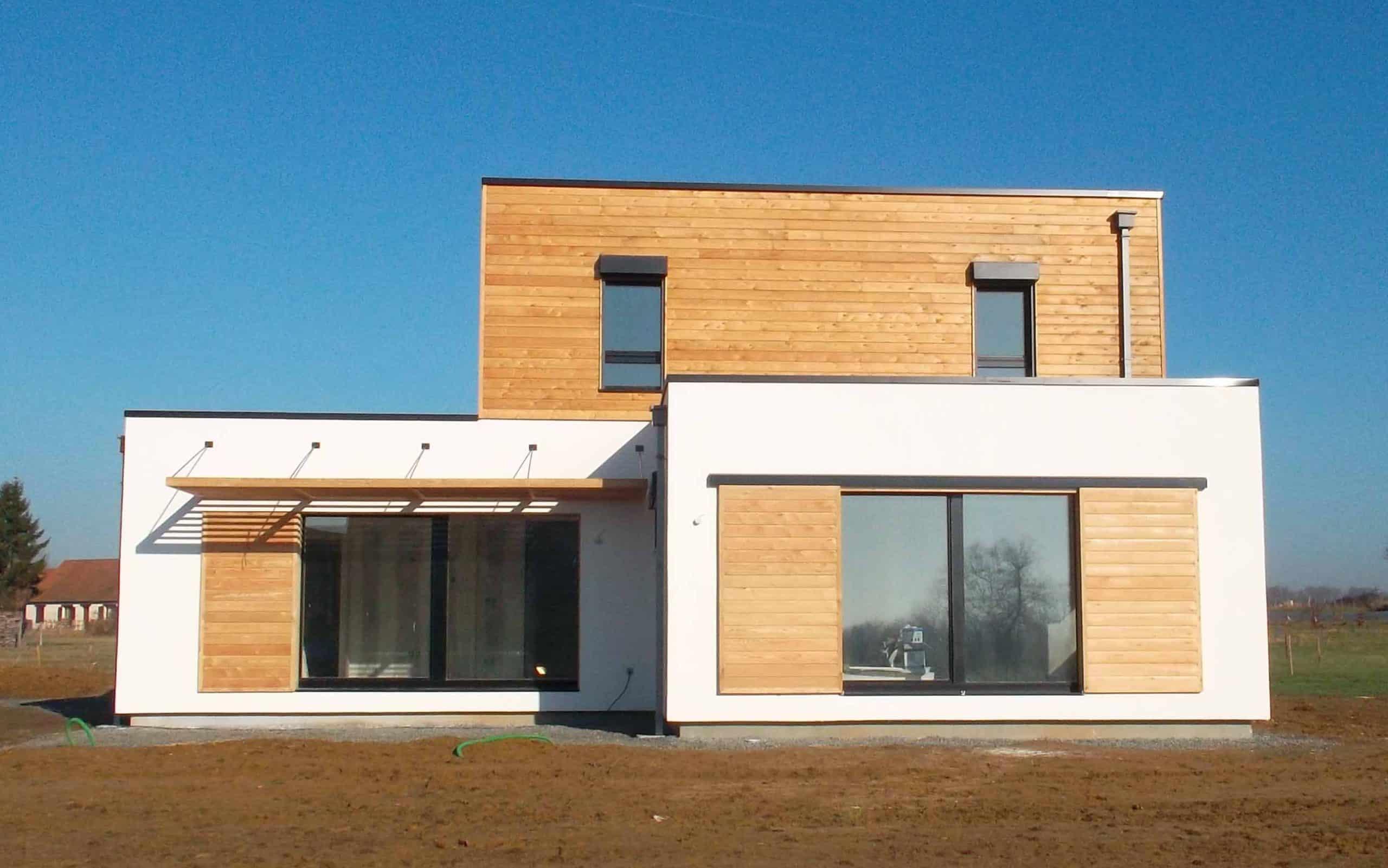 architecte maison passive trendy pour allier qualit haute performance thermique avec possibilit. Black Bedroom Furniture Sets. Home Design Ideas