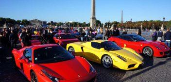 Le constructeur Ferrari dans la course au profit